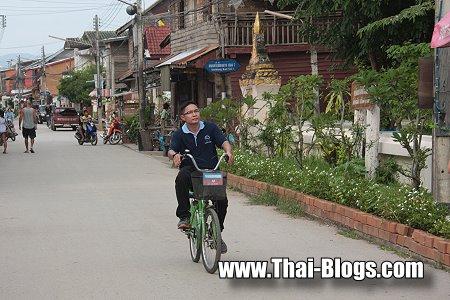 Bicycling Chiang Khan